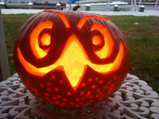 Owl-O-Lantern