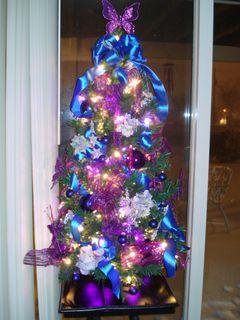 Purple-blue christmas