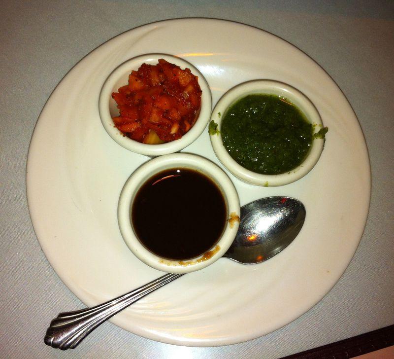 Dipping sauces