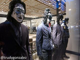 KISS Mannequins on Madison Avenue