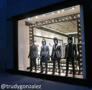 KISS Mannequins @JohnVarvatos